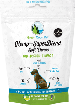 Green Coast Pet Dog CBD Chews