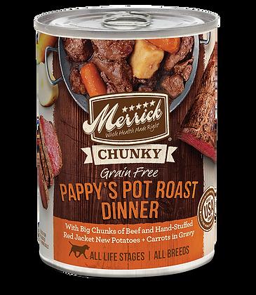 Merrick Chunky Stew Cans