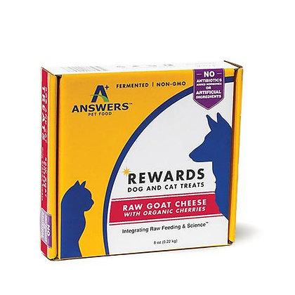 Answers Raw Rewards