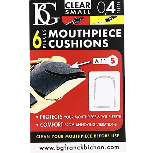 BG Clear Mouthpiece Patches 0.4 Small