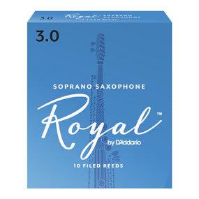 Rico Royal - Soprano Saxophone Reeds - Box of 10