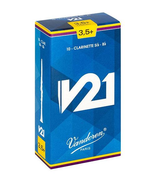 Vandoren V21 - Bb Clarinet Reeds Box of 10