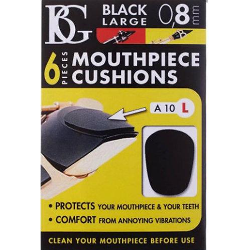 BG Black Mouthpiece Patches 0.8 Large