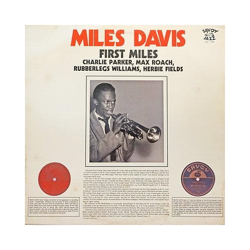FIRST MILES - MILES DAVIS
