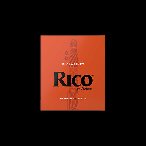 D'Addario Rico - Bb Clarinet Reeds - Box of 10