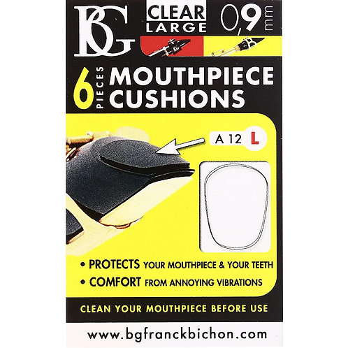 BG Clear Mouthpiece Patches 0.9 Large