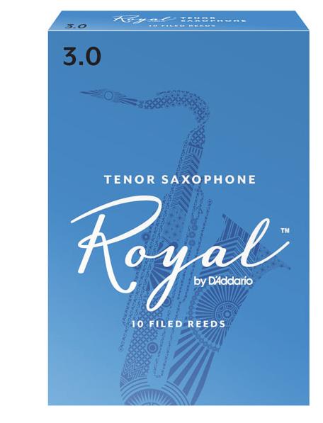 D'Addario Rico Royal - Tenor Saxophone Reeds - Box of 10