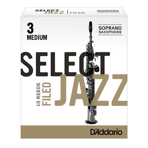 Rico Select Jazz - Soprano Sax Reeds - Box of 10
