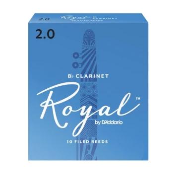 D'Addario Rico Royal - Bb Clarinet Reeds - Box of 10