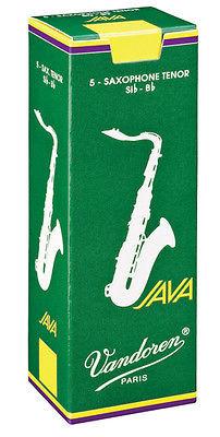 Vandoren Java - Tenor Saxophone Reeds - Box of 5