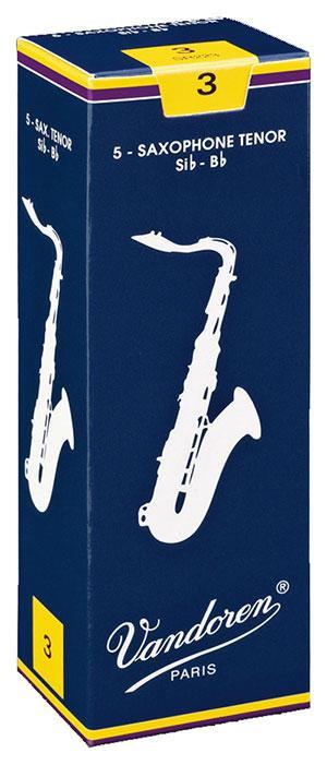 Vandoren Traditional - Tenor Saxophone Reeds - Box of 5