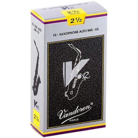 Vandoren V12 - Alto Saxophone Reeds - Box of 10