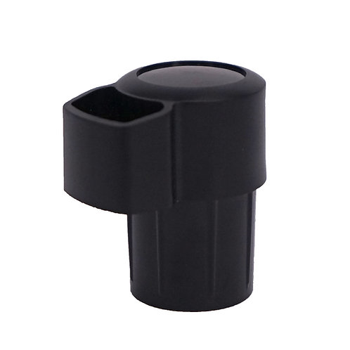 Alto Sax End Cap with octave pin protector