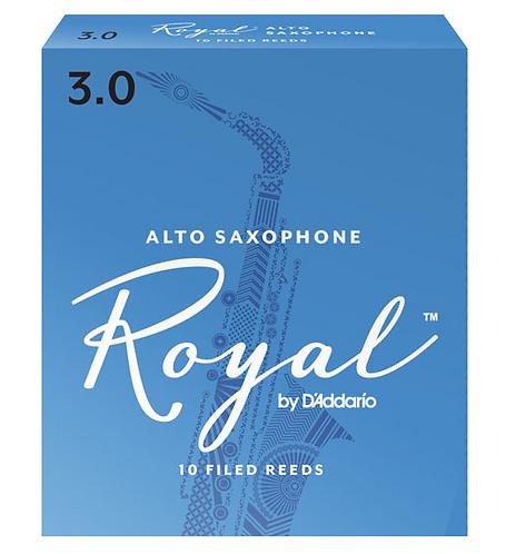 D'Addario Rico Royal - Alto Saxophone Reeds - Box of 10