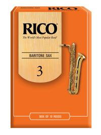 Rico Baritone Saxophone Reeds - Box of 3