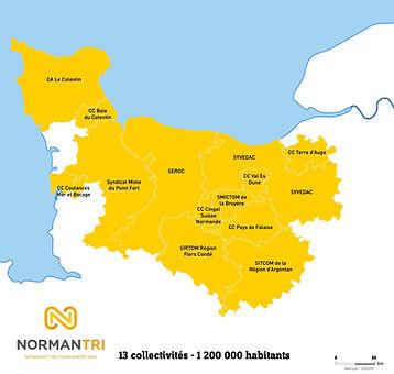 carte périmètre normantri