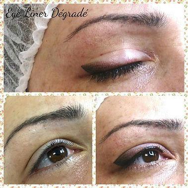 eye liner dégradé