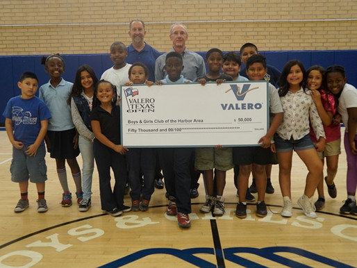 Boys & Girls Clubs of the L.A. Harbor Celebrates Valero's ongoing commitment to LA Harbor