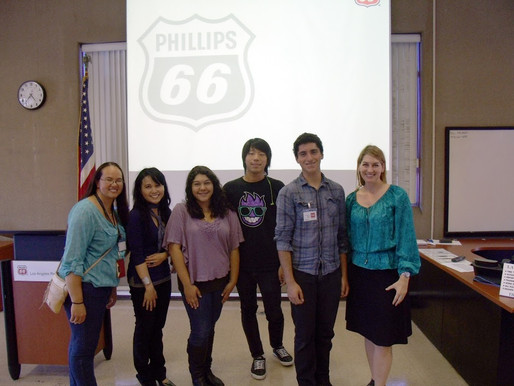 Phillips 66 Gives Back by Providing Paid Interns to Community Non-profits
