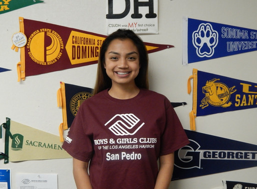 Meet Our Youth of the Year 2017 Candidates – Melanie Fontelera of our San Pedro Club