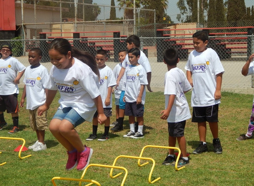 LA Lakers Promote Healthy Living at our Clubs