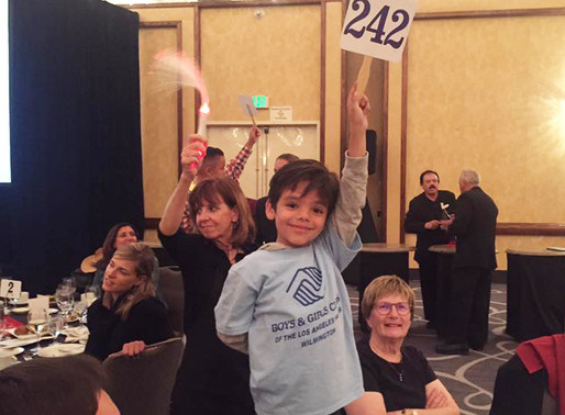 Backing Our Kids at Bids for Kids 2016