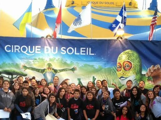 "Club Youth Visit Cirque du Soleil ""Totem"""