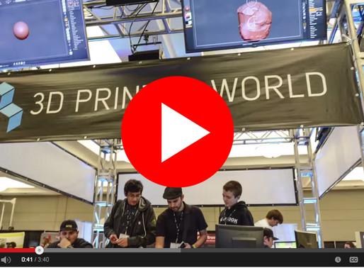 3D Design Students Visit 3D Printer World Expo