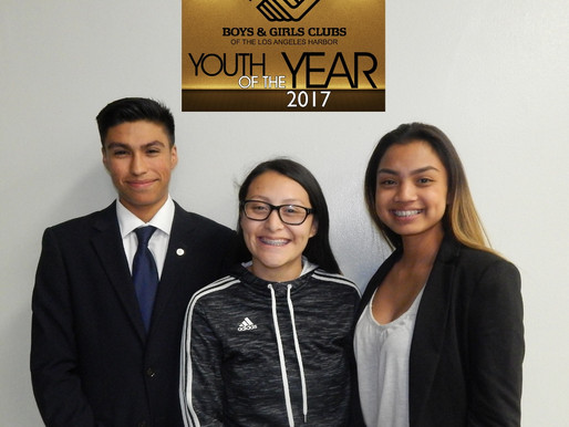 Announcing our Three Youths of the Year