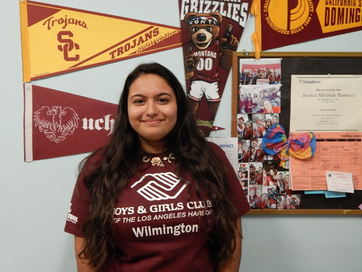 Meet Our Youth of the Year 2017 Candidates – Cynthia Perez of our Wilmington Club