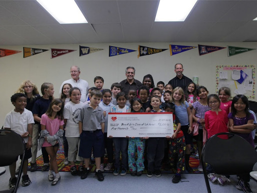 Boeing Employees Give to the Boys & Girls Clubs of the Los Angeles Harbor College Bound Program