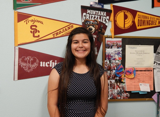 Meet Our Youth of the Year 2017 Candidates – Jazzlyn Amezcua of our Port of LA Club