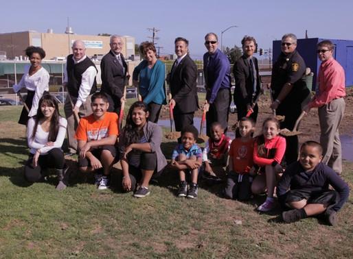 Councilman Joe Buscaino Joins Us for Daniel's Field Athletics Facility Groundbreaking