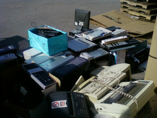 Wilmington Torch Club Holds E-waste Fundraiser
