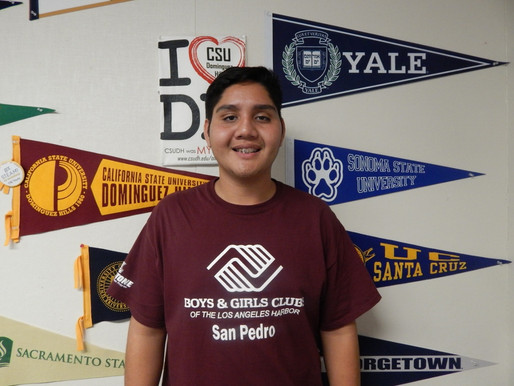 Meet Our Youth of the Year 2017 Candidates – Jesse Perez of our San Pedro Club