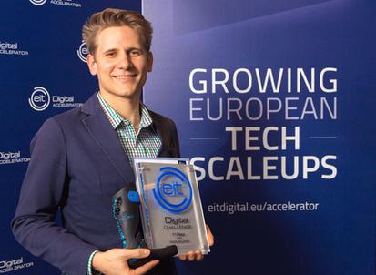 "The winner is - Mecuris: EIT Digital Challenge 2019 ""Digital Wellbeing"""