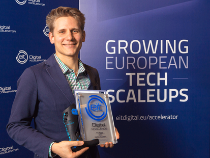 "The winner is - Mecuris: EIT Digital Challenge 2019 ""Digital Wellbeing"""