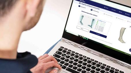 Neuigkeiten auf der Mecuris Solution Platform - der digitalen Werkstatt für Orthopädietechniker