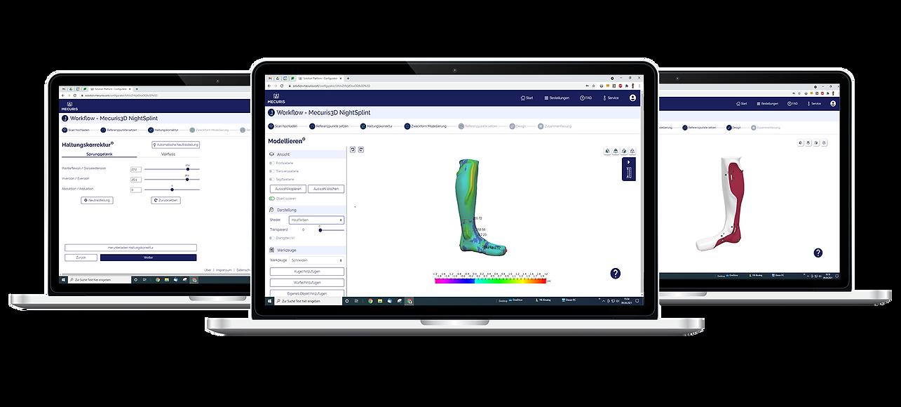 CAD/CAM Software für Orthetik - einfach und schnell nutzbar