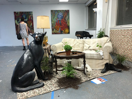 'Welcome Home' Art Installation