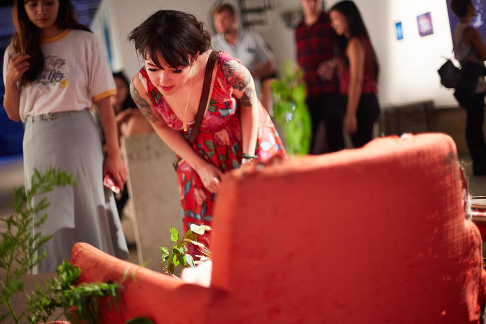 35 Ayala Studio Artists Show People 8-11