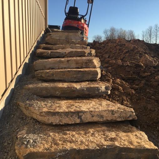 Natural Rock Steps