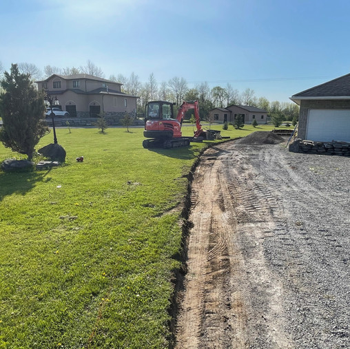 Driveway widening