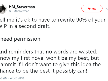 THE SECOND DRAFT (And you thought the first draft was hard)