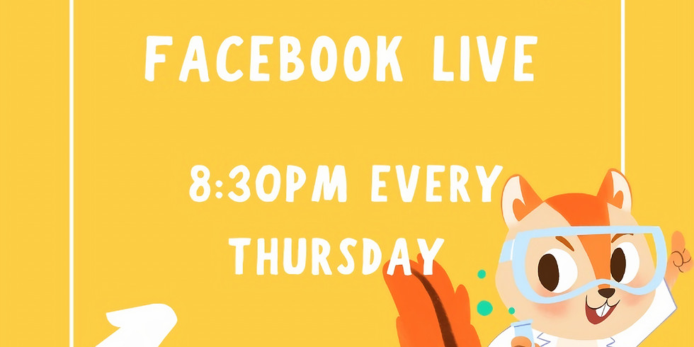 Free online training program -【Facebook Live at 8:30pm Every Thursday】