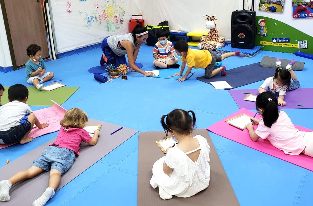 2020 Summer Camp_Yoga Class