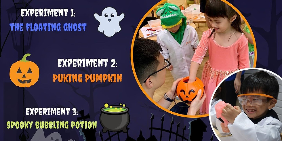 Joined Event - Family Science Workshop - Haunted House Adventure