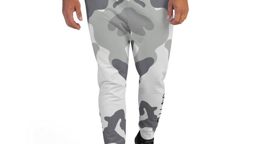 SHARELOVEANDLIGHT Grey Camo Men's Joggers
