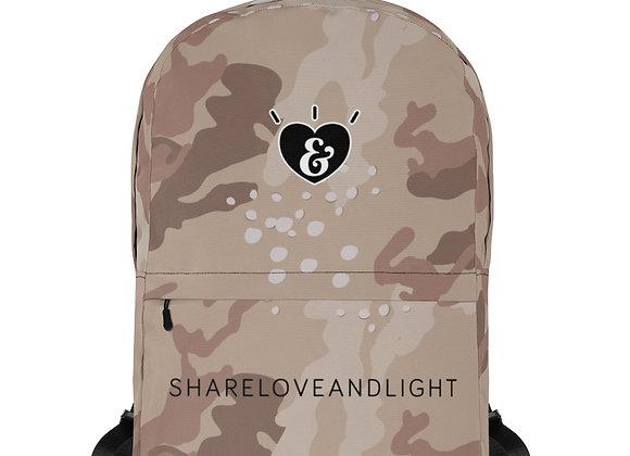 SHARELOVEANDLIGHT Desert Camo Backpack