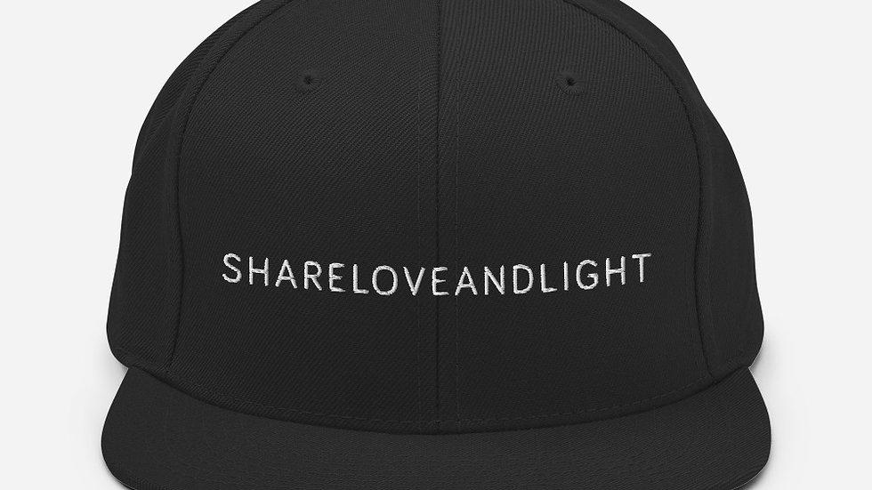 Snapback Hat - SHARELOVEANDLIGHT